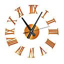 ราคาถูก อะไหล่และอุปกรณ์เสริมสำหรับเครื่องพิมพ์ 3D-3d ควอตซ์นาฬิกาตกแต่งบ้านโรมันขนาดใหญ่เงียบอะคริลิสติกเกอร์ที่ทันสมัยนาฬิกาห้องนั่งเล่น diy นาฬิกาแขวนดูมีสไตล์นาฬิกาแขวน