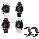 ราคาถูก วง Smartwatch-สายนาฬิกา สำหรับ vivomove / vivomove HR / Vivoactive 3 Garmin สายยางสำหรับเส้นกีฬา โลหะ / หนัง สายห้อยข้อมือ