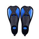 billige Dykkermasker, snorkeler og svømmeføtter-Dykking Finner Anti-Skride Svømming Dykking TPR PP - til Voksen Barn Gul Blå Rosa