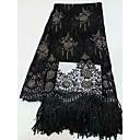 ราคาถูก African Lace-ลูกไม้แอฟริกัน ลวดลายดอกไม้ Pattern 125 cm ความกว้าง ผ้า สำหรับ โอกาสพิเศษ ขาย โดย 5Yard