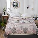 זול שטיחי קיר-שמיכות מיטה / סופה לזרוק / שמיכות רב תכליתיות, פרחוני / קלאסי / פרחוני  בוטני פלנל פליז חם יותר רך נוח סמיך