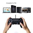 ราคาถูก อุปกรณ์เสริม PS4-จอยสติ๊กแบบใช้สายคอนโทรลเลอร์ ps4 คอนโทรลเลอร์เกมแบบมีสายจัดการ