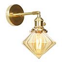 povoljno Zidni svijećnjaci-Mini Style Jednostavan / Suvremena suvremena Zidne svjetiljke Stambeni prostor / Spavaća soba Bakar zidna svjetiljka 110-120V / 220-240V 60 W
