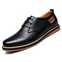 povoljno Modne naušnice-Muškarci Udobne cipele Koža Jesen zima Oksfordice Crn / Plava