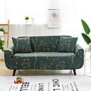 billige Sofa Trekk-Sofa-deksel, høyt strekk, tretrykt, mykt elastisk polyestergyltrekk