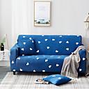 זול כיסויים-כיסויי ספה מכסי פוליאסטר מודפסים בכחול