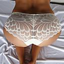 Χαμηλού Κόστους Ρούχα τρεξίματος-Γυναικεία Αντρικά σλιπ Δαντέλα Χαμηλή Μέση Σούπερ Σέξι