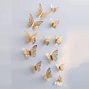 זול עיצוב וקישוט לקיר-בית קיר תפאורה פלסטיק חיות / ארופאי וול ארט, אומנות קיר ממתכת / וול סימנים תַפאוּרָה
