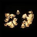 Χαμηλού Κόστους Μοδάτα Σκουλαρίκια-2m Φώτα σε Κορδόνι 20 LEDs Άσπρο / Κίτρινο / Πολύχρωμα Πάρτι / Χριστουγεννιάτικη διακόσμηση γάμου Μπαταρίες AA Powered 1pc