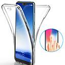 ราคาถูก เคสสำหรับโทรศัพท์มือถือ-Case สำหรับ Huawei Huawei P20 / Huawei P20 Pro / Huawei P20 lite Shockproof / Ultra-thin / Transparent ตัวกระเป๋าเต็ม สีพื้น Soft TPU / P10 Plus / P10 Lite / P10