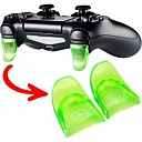 billiga PS4 Tillbehör-speltillbehör 1 par / set l2 r2 trigger expansionskit kit för PS4 controller spelkontrollen reservdelar