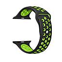 זול אירגוניות לרכב-עבור רצועת רצועת iwatch תפוח 42mm 38mm 40mm 44mm 44mm שתי רצועת צליל סיליקון עבור iwatch הלהקה 4/3/11 wristbands יצירתי דו צדדי