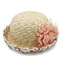 זול קישוטי חתונה-אחר חומר ביגוד לראש עם פרח / קצוות / קפלים חלק 1 לבוש יומיומי / בָּחוּץ כיסוי ראש