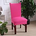 baratos Cobertura de Cadeira-slipcovers cover cover chair solid fuchisia color / poliéster impresso / altamente elástico / fácil de instalar