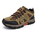 ราคาถูก รองเท้าและอุปกรณ์เสริม-สำหรับผู้ชาย รองเท้าสบาย ๆ PU ฤดูร้อน รองเท้ากีฬา เดินป่า สีเทา / สีน้ำตาล / อาร์มี่ กรีน
