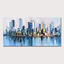ราคาถูก ภาพวาดวิวทิวทัศน์-ภาพวาดสีน้ำมันแขวนทาสี มือวาด - ภูมิประเทศ แลนสเคป ที่ทันสมัย รวมถึงด้านในกรอบ
