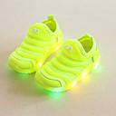ราคาถูก รองเท้า LED-เด็กผู้ชาย Light Up รองเท้า ผ้ายืดหยุ่น รองเท้าผ้าใบ เด็กวัยหัดเดิน (9m-4ys) / เด็กน้อย (4-7ys) สำหรับวิ่ง / วสำหรับเดิน สีเขียว / ฟ้า / สีชมพู ฤดูร้อน / ยาง