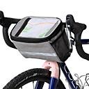ราคาถูก ผมต่อแท้-ROSWHEEL 4.8 L Cell Phone Bag กระเป๋าใส่ที่สำหรับมือจับ สัมผัสหน้าจอ หลายเลเยอร์ แถบสะท้อนแสง Bike Bag เสื้อผ้า โพลีเอสเตอร์ 300D Bicycle Bag Cycle Bag Samsung Galaxy S6 / Samsung Galaxy S6 edge / LG