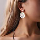 ราคาถูก ตุ้มหู-สำหรับผู้หญิง ต่างหู ต่างหู เครื่องประดับ สีทอง สำหรับ ปาร์ตี้ ฮอลิเดย์ 1 คู่