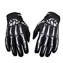 povoljno Motociklističke rukavice-3d modni duh kostur lubanje kosti rukavice motocikl pune rukavice prst