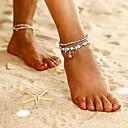povoljno Nakit za tijelo-Žene Gležanj Narukvica Boemski stil Kratka čarapa Jewelry Plava Za Party Dnevno