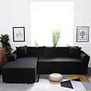 baratos Cobertura de Sofa-Cobertura de Sofa Clássico Fios Tingidos Poliéster Capas de Sofa