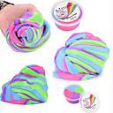 billige avstressere-Magnetisk deig Squishy Toy Slime Fluffy Stress og angst relief Dekompresjon Leker / 1 pcs Voksne Barne Leketøy Gave