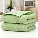 זול מגבת ספורט-איכות מעולה מגבת ספורט, גיאומטרי תערובת כותנה / פשתן חדר אמבטיה 2 pcs