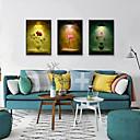 Χαμηλού Κόστους Εκτυπώσεις σε Κορνίζα-Εκτύπωση Τέχνης σε Κορνίζα Σετ σε Κορνίζα - Άνθινο / Βοτανικό Πολυστυρένιο Εικόνα Wall Art
