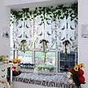 olcso Áltátszó drapériák-rúdzseb 100cm * 80cm kortárs, egy paneles puszta hálószoba függönyök