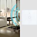 ราคาถูก เครื่องมือวัดระดับ-สวิตช์อัจฉริยะ ฟังก์ชัน Timing / ควบคุมการแข่งขันจากทุกที่ 1pc แก้วแกร่ง / พีซี ในผนัง เปิดใช้งาน WiFi / APP / ควบคุมเสียง Amazon Alexa Echo / Google Assistant