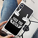 povoljno iPhone maske-kutija za iphone x 8 plus natrag kućište meki pokrov tpu prst riječ bijela krila mekan tpu za iphone 7 plus 7 6 plus 6 5 se 5s 5 8
