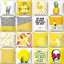ราคาถูก บ้าน & สวน-1 ชิ้น Polyester Pillow Cover, ภาพพิมพ์กราฟฟิก ปาหมอน