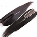 זול דלת חומרה & מנעולים-Clytie שיער ברזיאלי תחרה מלאה ישר חלק התיכון חלק אמצעי תחרה שווייצרית שיער אנושי בגדי ריקוד נשים extention / נוער בית הספר / פגישה (דייט) / שחור