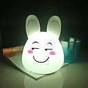 ราคาถูก ชั้นวางไวน์-1pc Rabbit คืนแสงไฟ LED / เนอสเซอรี่ไนท์ไลท์ / Book Light USB การ์ตูน / ความเครียดและความวิตกกังวลบรรเทา / ชาร์จใหม่ได้ 5 V