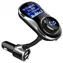 Χαμηλού Κόστους Σετ Bluetooth Αυτοκινήτου/Hands-free-bc26bq ασύρματος προσαρμογέας bluetooth 4.1 ασύρματος δέκτης μουσικής fm πομπός handsfree car kit lcd οθόνη usb φορτιστής για τηλέφωνο