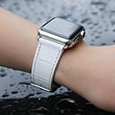 billige Vegglamper-krokodille bandrem til Apple Watch serien smart klokke serien 4/3/2/1 hvit
