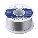 Χαμηλού Κόστους Κολλητήρι & Αξεσουάρ-xeredex 1,0 mm 2% ροή κασσίτερου μολύβδου κολοφωνίου ρολό πυρήνα ασημένιο σύρμα συγκόλλησης συγκόλλησης συγκόλλησης εργαλείο επισκευής ρόλλων τήξης κιτ 63% sn 50g