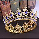 cheap Party Headpieces-Alloy Tiaras / Headdress / Headpiece with Sparkling Glitter / Glitter 1pc Wedding / Party / Evening Headpiece