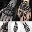 billiga tatuering klistermärken-5 pcs tillfälliga tatueringar Vattenavvisande / Bästa kvalitet händer / brachium Tatueringsklistermärken