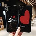 billiga Cykelbyxor,Shorts,Tights-fodral för Apple iPhone xs max / iphone x mönstrad baksida hjärta hård TPU för iPhone6 / 6s / 6plus / 6s plus / 7/8/7 plus / 8 plus / x / xs / xr / xs max