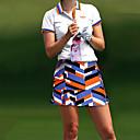 זול בגדי גולף-בגדי ריקוד נשים ושמלות גולף בגדי ספורט ומנוחה בָּחוּץ אביב קיץ / גמישות גבוהה / עמידות UV