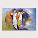 Χαμηλού Κόστους Πίνακες με Ζώα-Hang-ζωγραφισμένα ελαιογραφία Ζωγραφισμένα στο χέρι - Αφηρημένο Μοντέρνα Περιλαμβάνει εσωτερικό πλαίσιο