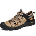 ราคาถูก รองเท้ากีฬาสำหรับผู้ชาย-สำหรับผู้ชาย รองเท้าสบาย ๆ หนัง ตก / ฤดูร้อนฤดูใบไม้ผลิ Sporty / ไม่เป็นทางการ รองเท้ากีฬา รองเท้าต้นน้ำ ระบายอากาศ สีดำ / สีกากี / การกรีฑา / ไม่ลื่นไถล / สวมหลักฐาน