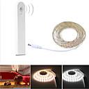 billige LED-kabinettlys-1pc 1.5 W 1320 lm 60 LED perler Bevegelsessensor Lys Under Skap LED-kabinettlamper Varm hvit Kjølig hvit 5 V Hjem / kontor Barneværelser Soveværelse / RoHs / CE
