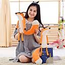 ราคาถูก พวงกุญแจ-Creative Fox Stuffed & Plush Animals สัตว์ต่างๆ น่ารัก ฝ้าย PP+ABS Toy ของขวัญ 1 pcs
