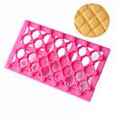זול כלים לאפייה-1pc פלסטי 3D Creative מטבח גאדג'ט עוגיה לעוגה מלבני אביזרים לאפיה ולמאפים כלי Bakeware
