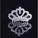 cheap Party Headpieces-Alloy Tiaras / Hair Combs with Sparkling Glitter / Glitter 1pc Wedding / Party / Evening Headpiece