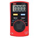 ราคาถูก จี้และเครื่องประดับรถยนต์-มือถือมัลติมิเตอร์แบบดิจิตอล uni-t ut120a ac / dc แรงดันไฟฟ้าเมตรทดสอบด้วยความต่อเนื่อง buzzer 4000 นับแสดงช่วงอัตโนมัติ
