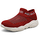 ราคาถูก รองเท้าผ้าใบเด็ก-เด็กผู้ชาย / เด็กผู้หญิง ความสะดวกสบาย ถัก รองเท้าผ้าใบ แดง / สีชมพู / สีน้ำเงินกรมท่า ฤดูร้อน
